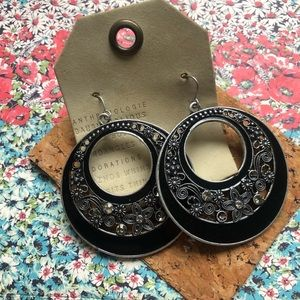 NWT Anthropologie statement earrings